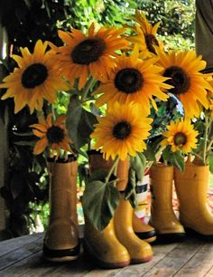 Oh So Beautiful ... SunFlowers    Shop at http://www.TheBowRoom.com  for unique boutique handmade hair accessories.                                                                                                                                                      More