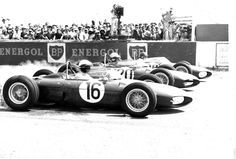 Phil Hill, Wolfgang Von Trips, Ricardo Rodriguez Ferrari 156 1961