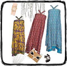 Hippie Silk Wrap Skirts by india-trendzs on Polyvore featuring Betsey Johnson and Michele http://stores.ebay.com/indiatrendzs/Silk-Sari-Skirt-/_i.html?_fsub=3670632018&_sid=180730768&_trksid=p4634.c0.m322