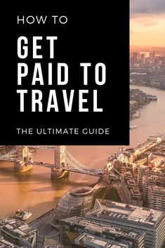 Learn how travellers make money traveling and how to get paid to travel the world. This is a complete guide on getting paid to travel which include travel job ideas and many other ways to make money traveling. Click here to see the guide.