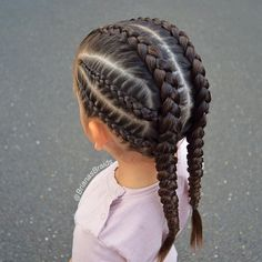 Tight braids for the ✈️Girls are so excited. P… - Hairstyles 2019 Tight braids for the ✈️Girls are so excited. # small Braids inspiration Tight braids for the ✈️Girls are so excited. P… - Hairstyles 2019 Baby Girl Hairstyles, Kids Braided Hairstyles, Box Braids Hairstyles, Teenage Hairstyles, Toddler Hairstyles, Short Hairstyles, 1950s Hairstyles, Summer Hairstyles, Cool Hairstyles For Girls