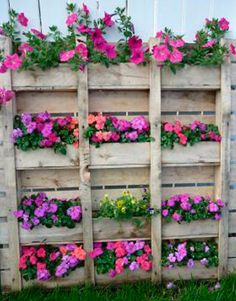 Muebles con palets: Jardinera