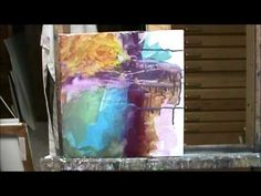 ACRYLIC ABSTRACT DEMO PART 1 BY MILLIE GIFT SMITH - YouTube....make sure you have your sound on to hear the Beautiful art & life advice from Miss Millie...She really is a GIFT <3