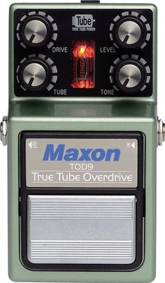 Maxon True Tube Overdrive Guitar Effects Pedal