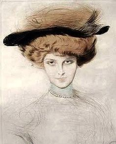 Paul Cesar Helleu (French artist,1859-1927)