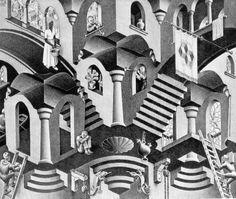 M. C. Escher: o artista das construções impossíveis