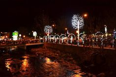 A beautiful night in Gatlinburg during Winterfest.