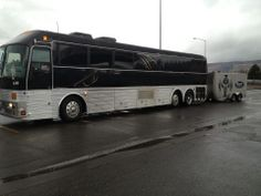 The QR tour bus is getting loaded up and reading to head out for the January 2014 tour!  Photo by Demetrius Bermudez, QR tour manager.
