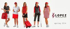 Nancy Lopez Spring 2014 Collection. #golf4her