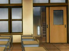 Ana Ruivo uploaded this image to 'Digimon'. See the album on Photobucket. Game Background Art, Classroom Background, Scenery Background, Background Drawing, Paint Background, Animation Background, Episode Interactive Backgrounds, Episode Backgrounds, Wallpaper Backgrounds