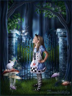 Creative Art Works Inspired by Tim Burton Alice in Wonderland Movie ...