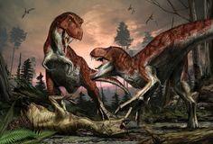 Davide Bonadonna - Tirannosauro piumato  http://www.extramoeniart.it/mi-ritorna-in-mente/jurassic-art-immaginare-i-dinosauri