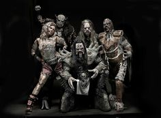 Oh Lordi! The shock-rock band - the first Finnish act to win the Eurovision Song Contest (in 2006 that was) are back! And hitting the UK for a May 2013 UK tour. Tickets from Music Clips, Music Bands, Lordi Band, Rock Music, My Music, Horror Movie Characters, Band Photography, Photo Checks, Best Memories