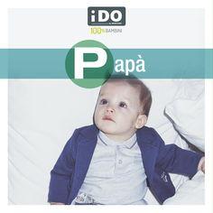 P come Papà #alfabetodeibambini #hopresodapapà #lafestadelpapà