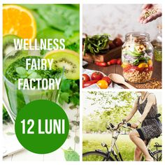 WELLNESS FAIRY FACTORY - 12 luni - Florina Badea Health And Nutrition, Voss Bottle, Fairy, Wellness, Food, Medicine, Essen, Meals, Yemek