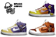 Rayman/Crash Bandicoot/Spyro shoes