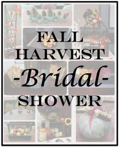 Fall Harvest Bridal Shower:  Create beautiful centerpiece for your next event using nature as your inspiration!  #MatlackFlorist
