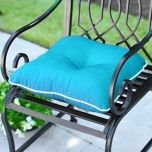outdoor chaise lounge cushion tealwhite geometric westminster outside pinterest outdoor cushions cushion pillow and teal