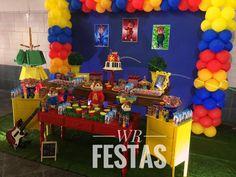 Alvin e os Esquilos por WR Festas Personalizadas https://www.facebook.com/contato.wrfestas/