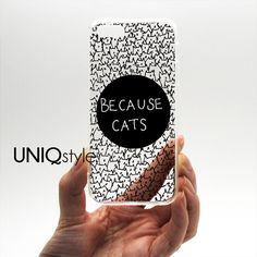 Transparent clear cat case for iPhone 4/4s 5/5s 5c by Uniqstyle, $9.95