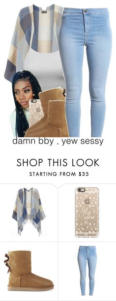 """""""Best I Ever Had"""" by queen-vanessa ❤ liked on Polyvore featuring Dorothy Perkins, Casetify and UGG"""