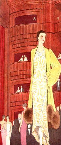Callot Soeurs | Femina 1929
