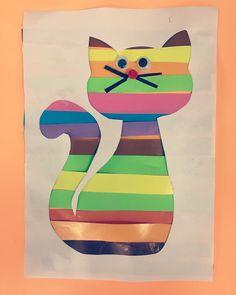 """97 Beğenme, 1 Yorum - Instagram'da okuloncesiniseviyorum (@yaratici_minisler): """"Rengarenk bir kedicikle rengarenk bir güne günaydın#kedi #cat #günaydın #goodmorning #okulöncesi…"""""""