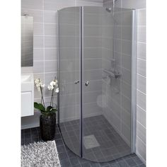 Harmaa kylpyhuone Dream Bathrooms, Bathroom Toilets, Small Bathroom, Bathroom Inspiration, Home N Decor, Bathrooms Remodel, Laundry In Bathroom, Home Decor, Home Deco