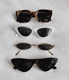 Uploaded by Vogue. Find images and videos about girl, fashion and style on We Heart It - the app to get lost in what you love. Sunglasses For Your Face Shape, Cute Sunglasses, Trending Sunglasses, Sunnies, Spring Sunglasses, Drawing Sunglasses, Heart Sunglasses, Mode Hipster, Lunette Style