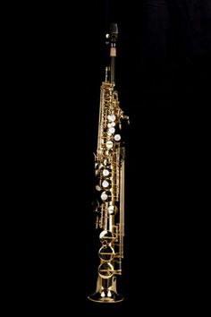 KG G-Series IV Soprano Sax Lacquered Keys & Body in Kenny G Saxophones