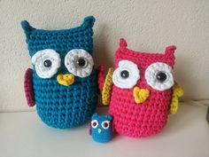 Owl family from zpagetti made by Patripiex