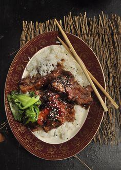 Chinese Pork with Plum sauce