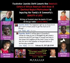 Chicago Mom Laments America's Culture of African American Child Abuse and Maltreatment ___ Hi. R U aware of Americas #T_H_U_G_L_I_F_E National HEALTH CRISIS or its remedy #A_F_R_E_C_A_N?