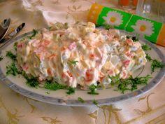 Rus Salatası Tarifi ve Hazırlanışı