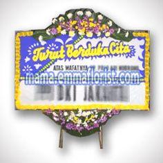 Gambar Karangan Bunga Papan Duka Cita BPDC-01