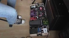 Rock blues and post rock Pedalboard demo