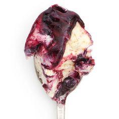 Toasted Brioche with Butter & Black Currant Jam - Jeni's Splendid Ice Creams