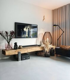 7 chic multi-functional interior furnishing ideas to save you space, Lifestyle News - AsiaOne Living Room Modern, Living Room Decor, Movable Walls, Four Rooms, Décor Antique, One Bedroom, Your Space, House Design, Contemporary