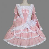 Bell Sleeves Multilayer Cotton Sweet Lolita Dress Lolita clothes