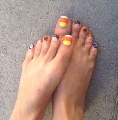 Halloween feet
