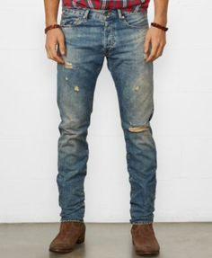 Denim & Supply Ralph Lauren Slim-Fit Oceanside Jeans
