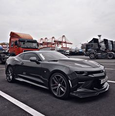 """The Muscle Car History Back in the and the American car manufacturers diversified their automobile lines with high performance vehicles which came to be known as """"Muscle Cars. Camaro Car, Chevrolet Camaro, Corvette, 2019 Camaro, Bugatti, Lamborghini, Ferrari, Mustang Cars, Sweet Cars"""