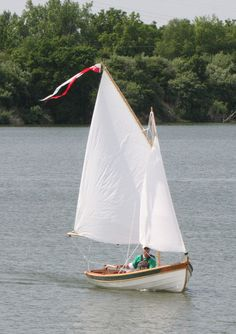 EZ Duzit, hand crafted wooden sail boat