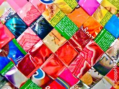 That´s a wrap(-per) - Candy Wrapper DIY ideas & inspiration