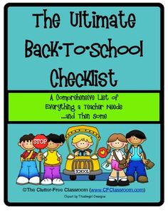 Clutter-Free Classroom Guide to Organizing & Managing Your Classroom - Clutter-Free Classroom - TeachersPayTeachers.com