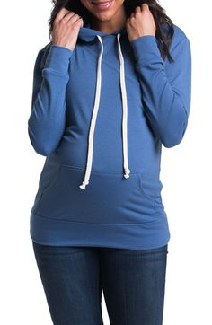 Bun Maternity 'Cozy' Maternity/Nursing Hoodie available at #Nordstrom