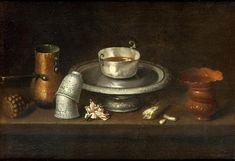 Nature morte au bol de chocolat - Still life with chocolate cup - vers 1640 - Juan de Zurbaran http://www.culture.gouv.fr/Wave/image/joconde/0600/m033204_002452_p.jpg Notez à la gauche du tableau le moulinet de bois et la chocolatière de cuivre.