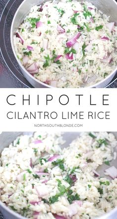 Super easy, made in less than 25 minutes, and a base to your favourite Mexican Dish. Inspired by your favourite Chipotle Mexican Grill, this cilantro lime rice recipe is a healthy choice. Save money and make it homemade. For burrito bowls, burritos, tacos, enchiladas, etc. Gluten-Free | Healthy | Light | Clean Eating |