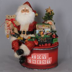 Be prepared for any holiday occasion with the new arrivals of your favorite brands from Byers Choice to Karen Didion Originals at The Wooden Duck Shoppe. Family Christmas, Christmas Wreaths, Christmas Ornaments, Santa Claws, Primitive Santa, Santa Doll, Santa Figurines, Family Traditions, Dear Santa