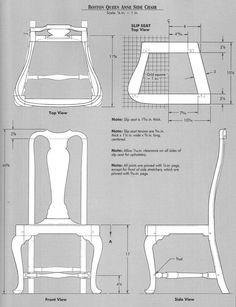 Elga's Miniatures: Queen Anne Chair: Cabriole legs Jig making